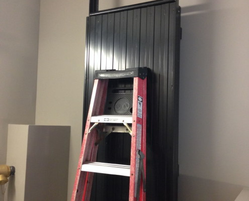 Getting creative and accessing roof at a condo