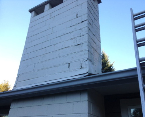 Chimney not safe and needs major repairs