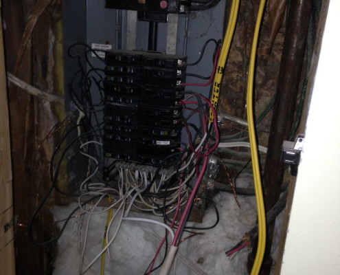 Unsafe Electrical Panel